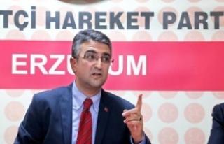 MHP'li Aydın: TRT Erzurum Radyosu bir çırpıda...