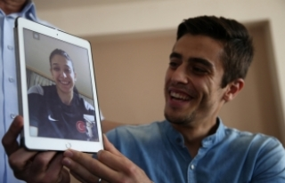 Nur'un başarısı ailesini sevince boğdu