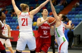 Potanın Perileri, Eurobasket 2017'de Belarus'u...