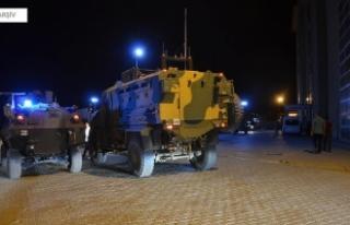 Şırnak'ta zırhlı polis aracının çarptığı...
