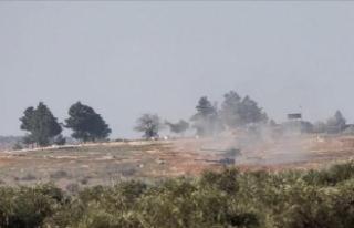 TSK, Afrin'deki YPG ateşine karşılık verdi