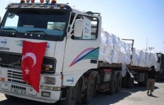Türkiye'den Gazze'ye bayramda 10 bin tonluk...