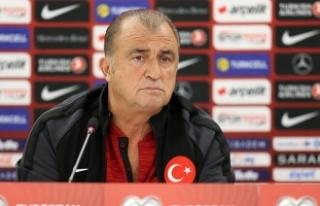 Türkiye Futbol Direktörü Terim: Milli formayı...
