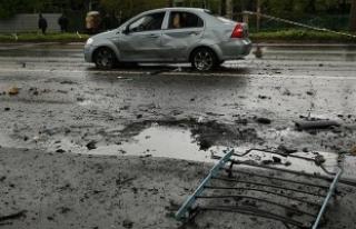 Ukrayna'da patlama
