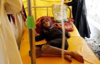 Yemen'deki kolera salgınında ölenlerin sayısı...
