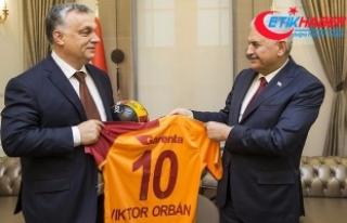 Yıldırım'dan Macaristan Başbakanı'na...