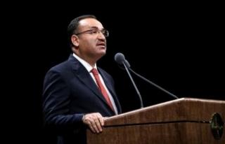 Adalet Bakanı Bozdağ: Türkiye o raporu hazırlayan...