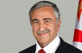 """Akıncı: """"Olumsuz gidişi Türkiye'nin kararlılığı..."""