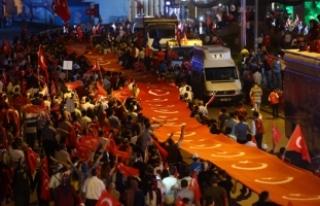 Ankara Valiliği: Milli Birlik Yürüyüşü'ne...