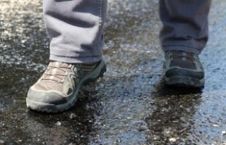 Aşırı sıcaklar asfalt eritti