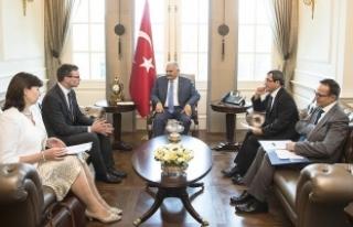 Başbakan Yıldırım, Estonya Dışişleri Bakanı...