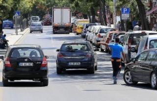 Başkentte yol boyu otoparklar yeniden ücretli olacak