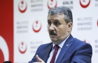 BBP Genel Başkanı Destici: Kıbrıs Türkiye'ye...