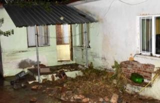 Çanakkale'de sel Gökçebayır köyünü vurdu