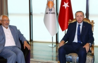 Cumhurbaşkanı Erdoğan, Nahda Hareketi lideri Gannuşi'yi...