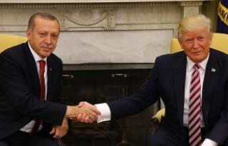 Cumhurbaşkanı Erdoğan, Trump ile ikili görüşme...