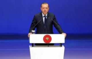 Erdoğan: Terör oluşumunun kalbine soktuğumuz hançeri...