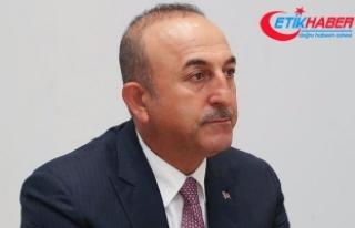 Dışişleri Bakanı Çavuşoğlu: Müzakere demek...