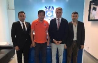 Fikret Orman, Şanghay Futbol Federasyonu'nu...