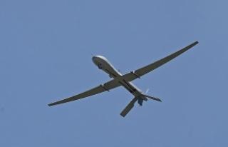 İsrail'e ait insansız hava aracı Batı Şeria'da...