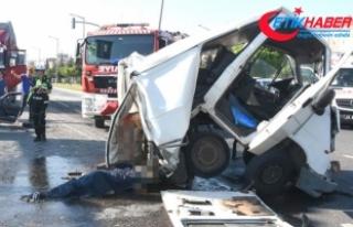 Kavşakta kamyon dehşeti!.. Ölü ve yaralılar var!