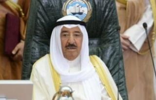 Kuveyt Emiri Sabah'tan Irak Başbakanı İbadi'ye...