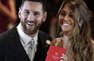Lionel Messi, Çocuklarının Annesi Roccuzzo'yla...