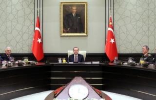 MGK bildirisi: Türkiye, sınırında terör devleti...