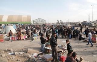 Musul'da üç yılda yaklaşık 7 bin sivil hayatını...