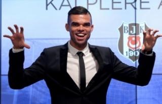 Pepe: Son 5 senede ilerleyen, gelişen Beşiktaş...