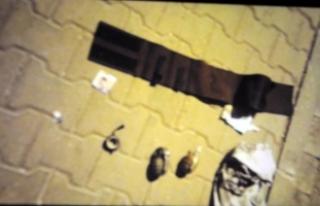 Polisten kaçan Suriyeliler'in üzerinde tabancalar...