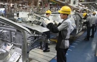 Sanayi üretim endeksi yüzde 3,5 arttı