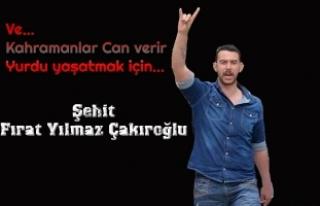 Şehit Fırat Çakıroğlu'nun katiline ağırlaştırılmış...