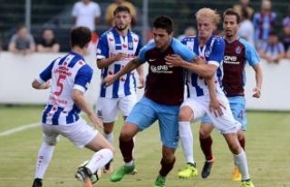Trabzonspor'dan golsüz prova
