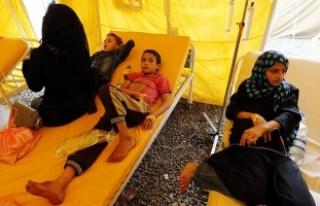 Yemen'de kolera salgını 3 ayda bin 784 can...