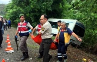 Zonguldak'ta aynı yolda 3 kaza: 1 ölü, 15...
