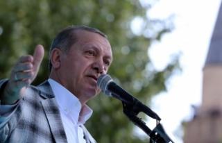 Erdoğan: Meydanı bu çapulculara bırakıp kaçmak...