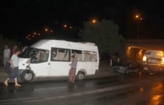 Giresun'da trafik kazası: 12 yaralı