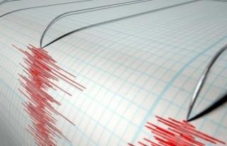 Datça açıklarında 4.5'lik deprem