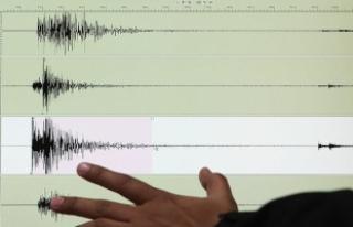 Ege Denizi'nde 4,5 büyüklüğünde deprem