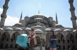İstanbul'a ilk 6 ayda 4 milyon 385 bin turist...