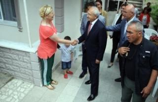 Kılıçdaroğlu felç geçiren ilçe başkanını...