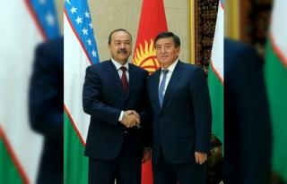 Kırgızistan ve Özbekistan sınır sorununu çözmek...