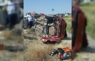 Kırıkkale'de 2 otomobil çarpıştı: 2 ölü,...