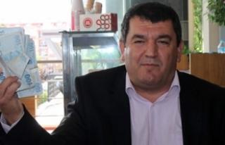 Kırkpınar Ağası Çetin, Para Dolu Çantayla Geldi:...