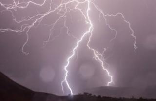 Meteoroloji'den sağanak yağış ve dolu yağışı...