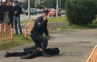 Rusya'daki Bıçaklı Saldırıyı Terör Örgütü...