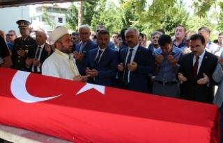 Silivri Emniyet Müdürü Çalışkan'ın cenazesi...