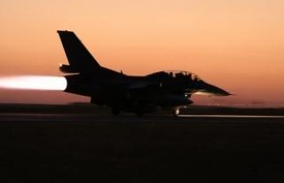 TSK'dan Avaşin Basyan Hava Harekatı: 4 terörist...