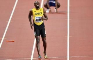 Usain Bolt'un sakatlanması sonucu takımı yarışı...